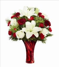 The FTD Holiday Celebrations Bouquet Standard by McAdams Floral, your Victoria, Texas (TX) Florist