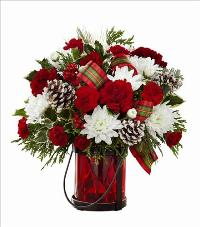 The FTD Holiday Wishes Bouquet by Better Homes and Gardens 2015 Standard by McAdams Floral, your Victoria, Texas (TX) Florist