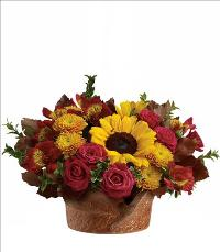 Sunny Autumn Bouquet by McAdams Floral, your Victoria, Texas (TX) Florist