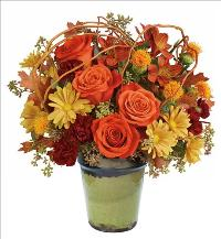 Shades of Fall Bouquet by McAdams Floral, your Victoria, Texas (TX) Florist