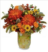Autumn Mosiac Bouquet by McAdams Floral, your Victoria, Texas (TX) Florist