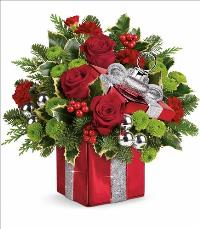 Gift Wrapped Bouquet by McAdams Floral, your Victoria, Texas (TX) Florist