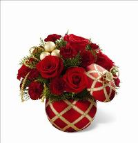 Seasons Greetings Bouquet by McAdams Floral, your Victoria, Texas (TX) Florist