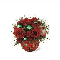 The Seasons Greeting Bouquet 2 by McAdams Floral, your Victoria, Texas (TX) Florist