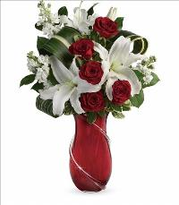 Love and Tenderness Bouquet Valentines by McAdams Floral, your Victoria, Texas (TX) Florist