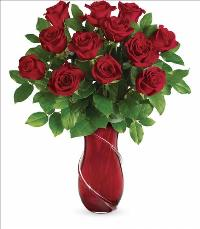 Wrapped in Roses Bouquet by McAdams Floral, your Victoria, Texas (TX) Florist