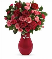 Hearts Entwined Bouquet Valentines by McAdams Floral, your Victoria, Texas (TX) Florist