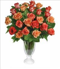 Sunrise Splendor Rose Bouquet by McAdams Floral, your Victoria, Texas (TX) Florist