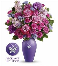 Roses And Butterflies Bouquet by McAdams Floral, your Victoria, Texas (TX) Florist
