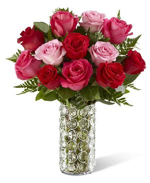 Art of Love Roses Bouquet by McAdams Floral, your Victoria, Texas (TX) Florist