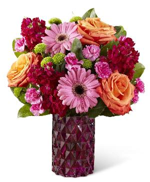 Brighlty Bejeweled Bouquet Deluxe by McAdams Floral, your Victoria, Texas (TX) Florist