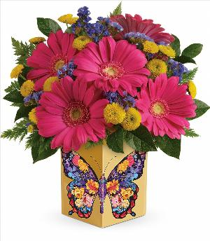 Wings Of Thanks Bouquet by McAdams Floral, your Victoria, Texas (TX) Florist