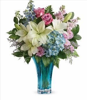 Heart's Pirouette Bouquet by McAdams Floral, your Victoria, Texas (TX) Florist
