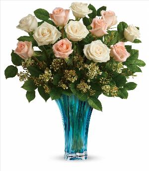 Ocean Of Roses Bouquet by McAdams Floral, your Victoria, Texas (TX) Florist