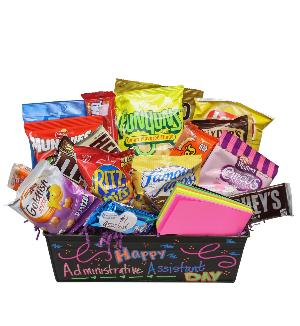 Nurses' Week & Teacher Appreciation Week Snack Basket by McAdams Floral, your Victoria, Texas (TX) Florist