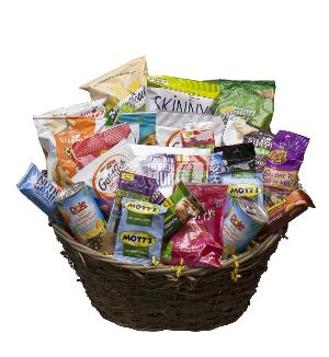 Healthy Snack Basket by McAdams Floral, your Victoria, Texas (TX) Florist