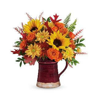 Bounty of Blooms Bouquet Standard by McAdams Floral, your Victoria, Texas (TX) Florist