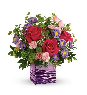 Lavender Waves Bouquet Standard by McAdams Floral, your Victoria, Texas (TX) Florist