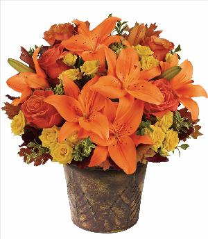 Fall Mystique Bouquet by McAdams Floral, your Victoria, Texas (TX) Florist