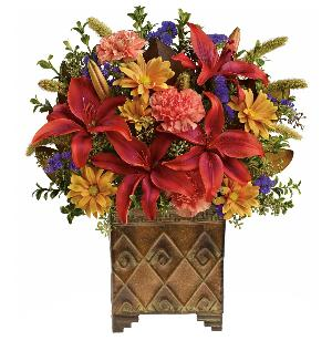 Rustic Autumn Tone Bouquet by McAdams Floral, your Victoria, Texas (TX) Florist