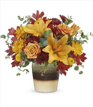 Rustic Sunrise Bouquet by McAdams Floral, your Victoria, Texas (TX) Florist