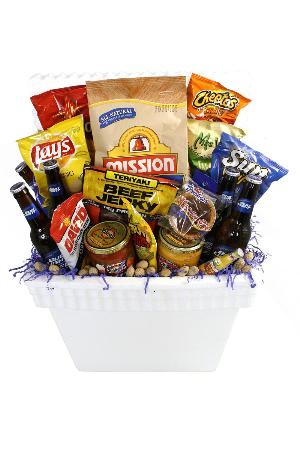 Party Starter Cooler Basket by McAdams Floral, your Victoria, Texas (TX) Florist
