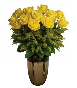 Autumn Roses Arrangement by McAdams Floral, your Victoria, Texas (TX) Florist