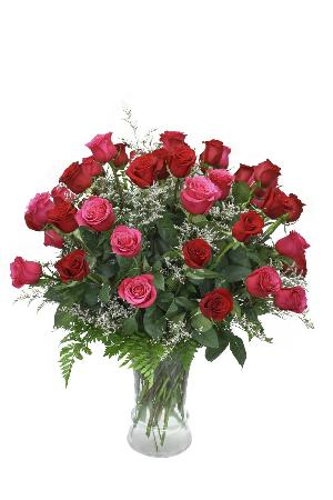 McAdams Love Triumphs Rose Bouquet - Valentines by McAdams Floral, your Victoria, Texas (TX) Florist