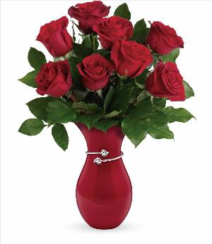 Gift From The Heart Rose Bouquet Standard by McAdams Floral, your Victoria, Texas (TX) Florist