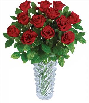 Legendary Love Crystal Rose Bouquet Standard by McAdams Floral, your Victoria, Texas (TX) Florist