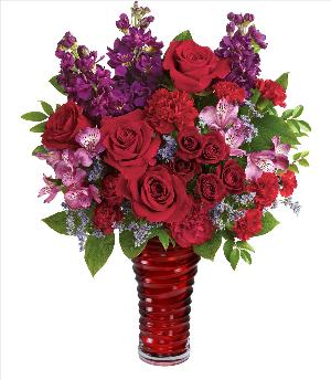 Romantic Swirl Bouquet Deluxe by McAdams Floral, your Victoria, Texas (TX) Florist