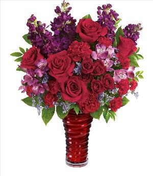 Romanic Swirl Bouquet Premium by McAdams Floral, your Victoria, Texas (TX) Florist
