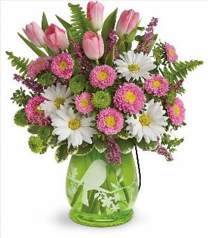 Songs of Spring Bouquet Deluxe by McAdams Floral, your Victoria, Texas (TX) Florist