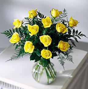 Brighten the Day™ Rose Bouquet by McAdams Floral, your Victoria, Texas (TX) Florist