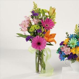 Birthday Bud Vase by McAdams Floral, your Victoria, Texas (TX) Florist