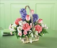 The FTD® Joy of Spring™ Basket by McAdams Floral, your Victoria, Texas (TX) Florist