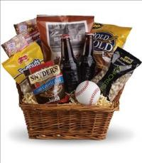 Take Me Out to the Ballgame Basket by McAdams Floral, your Victoria, Texas (TX) Florist
