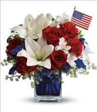 America the Beautiful by Teleflora by McAdams Floral, your Victoria, Texas (TX) Florist
