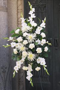 All-White Spray by McAdams Floral, your Victoria, Texas (TX) Florist