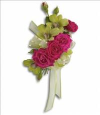 Chic and Stunning Corsage by McAdams Floral, your Victoria, Texas (TX) Florist