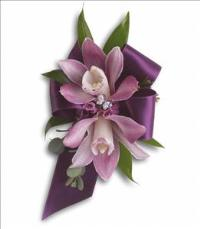 Exquisite Orchid Wristlet by McAdams Floral, your Victoria, Texas (TX) Florist
