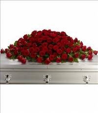 Greatest Love Casket Spray by McAdams Floral, your Victoria, Texas (TX) Florist