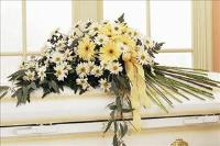 Youth Casket Setting by McAdams Floral, your Victoria, Texas (TX) Florist
