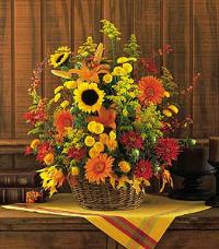 Signature Fall Arrangement by McAdams Floral, your Victoria, Texas (TX) Florist