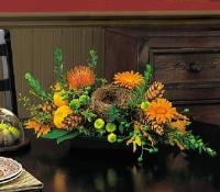 Oval Centerpiece by McAdams Floral, your Victoria, Texas (TX) Florist