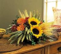 Square Mounded Arrangement by McAdams Floral, your Victoria, Texas (TX) Florist