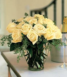 White Roses by McAdams Floral, your Victoria, Texas (TX) Florist