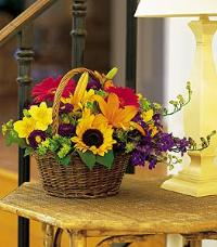 Thank You Basket by McAdams Floral, your Victoria, Texas (TX) Florist