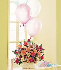 Birthday Basket by McAdams Floral, your Victoria, Texas (TX) Florist