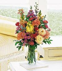 Small Mixed Vase Arrangement by McAdams Floral, your Victoria, Texas (TX) Florist